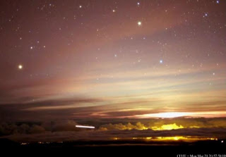 OVNI capturado en el Telescopio Canadá-Francia-Hawaii, 21 de marzo 2011