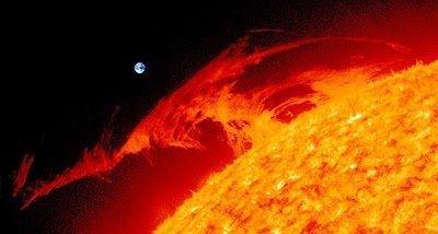 Imágenes asombrosas de intensa actividad alrededor de nuestro sol (video) Febr 17, 2011