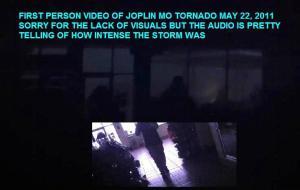 Vídeo en primera persona del tornado de Joplin
