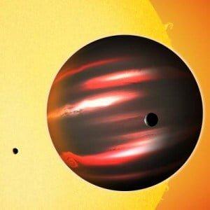 Astrónomos descubren un raro planeta negro