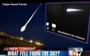 ¿OVNI se estrella en el océano en Flagler Beach, Florida? – 27 de julio 2011