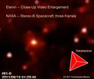 El Núcleo del Cometa Elenin intacto – Fotos 02 de septiembre 2011
