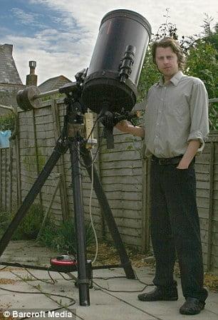 Imágenes de nuestro sistema solar tomadas por un astrónomo en su casa