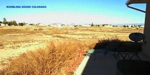 Ruido retumbante oído en el sur de Colorado, 19 de octubre 2011