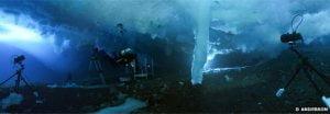 Extraño dedo de hielo submarino de la muerte filmado en la Antártida