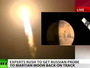 La sonda tóxica 'Phobos-Grunt' se calcula que caerá a la Tierra alrededor de 26 de noviembre