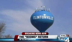 Clintonville: Decenas de booms fuertes resuenan en la ciudad una vez más – 28 de marzo de 2012