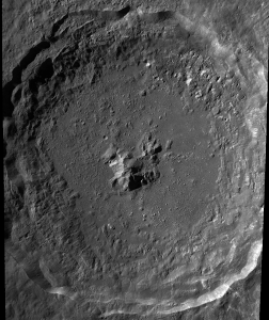 Crater Tycho - Tycho Crater Face of Easter Island Statue on the Moon?