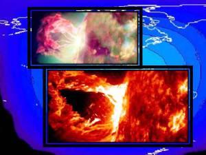 Explosión espectacular en la Corona Solar, 16 abril 2012