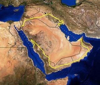 Arabian Desert 21 - Satellite Images Reveal an Ancient Network of Rivers in Arabian Desert