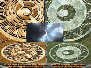 Dos círculos de la cosecha se refieren a importantes eventos astronómicos en 2012
