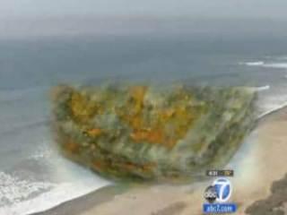 rock beach burn - Mystery: Rocks From Beach Catch Fire in Womans Pocket San Clemente, CA May 16, 2012