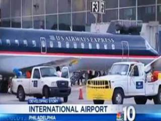 US Airways Express mysterious ufo - Mysterious Object and US Airways Express Philadelphia flight near miss