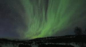 Vídeo con 2000 horas de auroras boreales