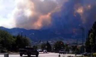 Un incendio de proporciones épicas destruye algunos barrios de Colorado Springs 1