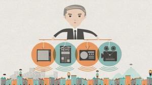 Estas 6 empresas controlan el 90% de los medios de comunicación en los Estados Unidos