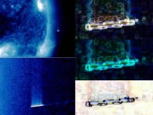 OVNI gigante en el Sol – 27 de julio 2012