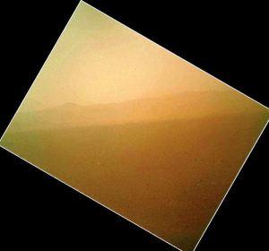 Espectaculares primeras imágenes en color del Curiosity de Marte – Aug 7, 2012