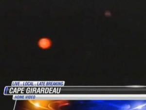 OVNIs en Jackson introducen las noticias, 2012
