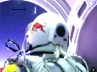 Felix Baumgartner encuentro OVNI