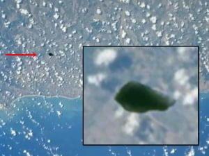 Impresionante objeto desconocido fotografiado por la NASA