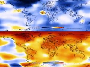 """NASA: La temperatura """"se paraliza"""", pero es la década más caliente desde finales de 1800"""