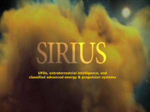 Divulgación: Último trailer SIRIUS