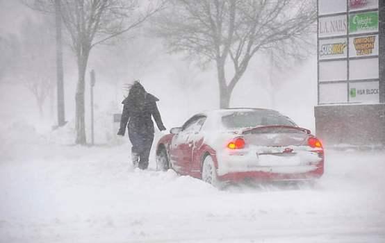 """El Norte de Texas paralizada por una """"histórica tormenta de nieve"""""""