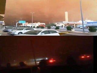 Increíble tormenta de arena convierte el día en noche – Abril 2013