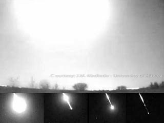 Vídeo del meteoro que explotó este fin de semana sobre España – 13 Abr, 2013