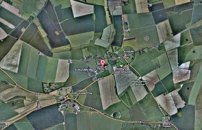 Nuevo círculo de la cosecha en Trusloe Avebury, Wiltshire Reino Unido – 06 de julio 2013