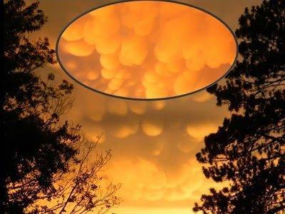 Increíbles nubes Mastodónticas y cielo loco en la península superior de Míchigan – 23 de julio 2013