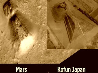 Una gran estructura geométrica en Marte, la misma estructura que en Kofun de Japón - Julio 2013 1