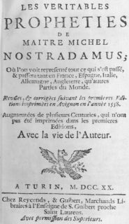 ¿Predijo Nostradamus la Tercera Guerra Mundial? 2