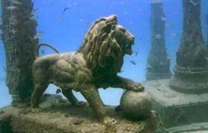 Heracleion la antigua ciudad que se hundió debido a terremotos e inundaciones