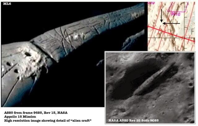 Nave espacial descubierta en la Luna sigue siendo un misterio