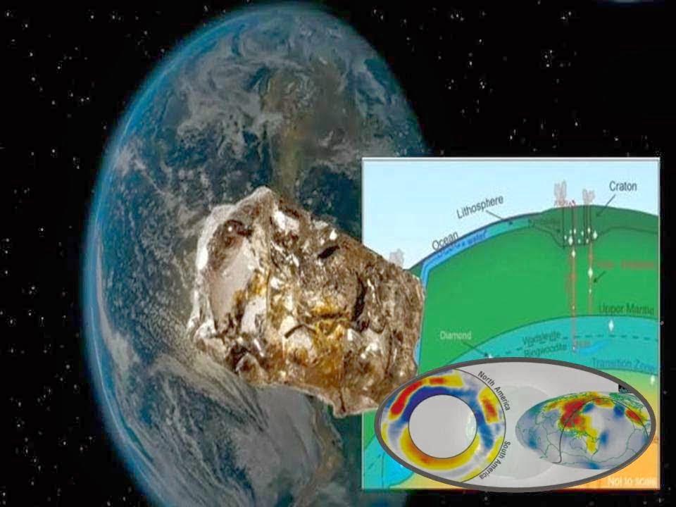 Descubierto Enorme Océano En El Interior De La Tierra
