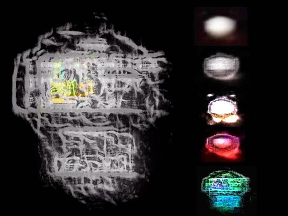 OVNI filmado en el Área 51 a principios de los años 90