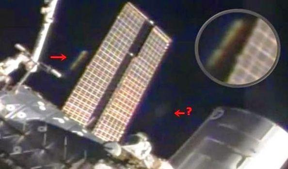 ¿OVNI Cerca de la Estación Espacial Internacional?