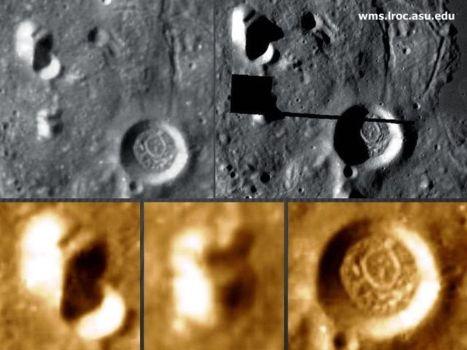 ¿Posibles estructuras lunares en el interior del Mare Orientale?