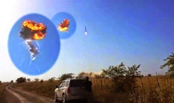 Cohete SpaceX explota sobre Texas el 22 de agosto 2014