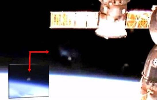 Live Cam de la ISS capta Misterioso Objeto Gris