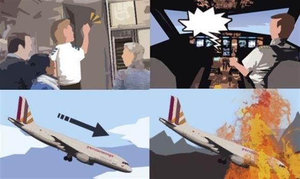 Avión estrellado en los Alpes: Incógnitas