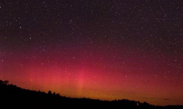 Auroras Rojas iluminan el cielo de E.E.U.U.