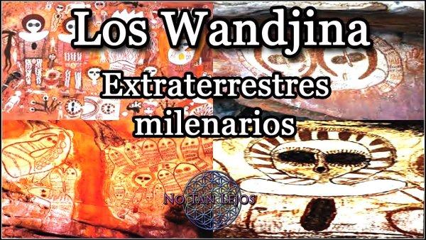 Los Wandjina, Extraterrestres Milenarios