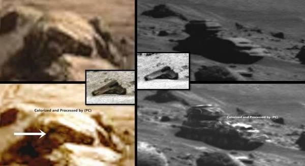 ¿Imágenes dan evidencia de presencia militar secreta en Marte?