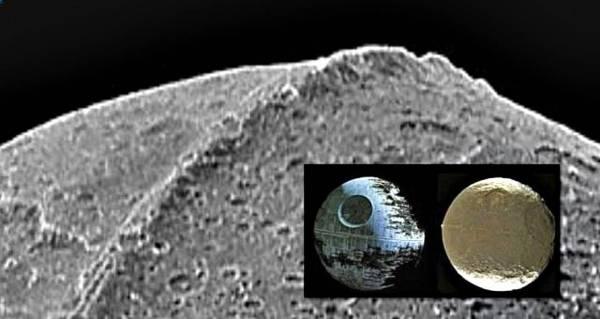 ¿Es la extraña luna de Saturno una construcción artificial alienígena?