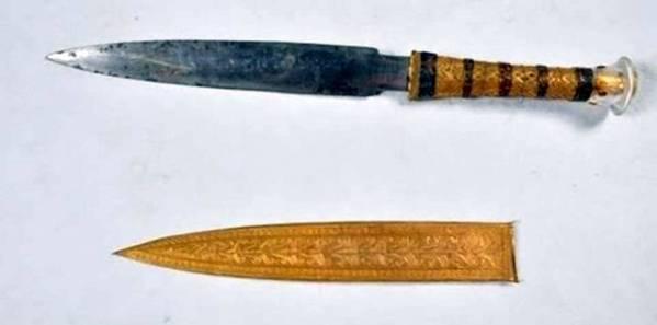 Rey Tut poseía una daga del espacio exterior