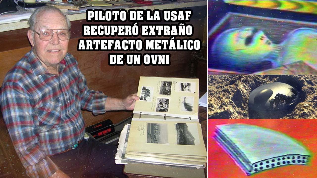 Piloto de la USAF recuperó extraños metales de un OVNI en México