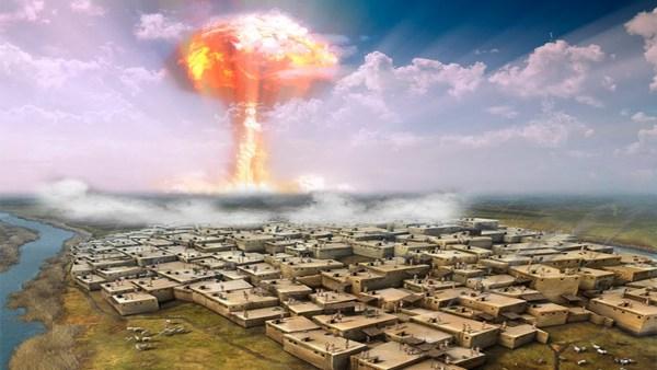 Pruebas de Bomba Atómica en la Antigüedad